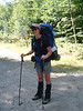Dottie all ready to hit the trail!