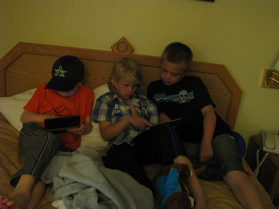 These three were into those iPads