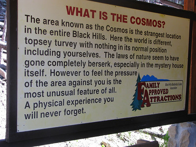 Cosmos- cool attraction