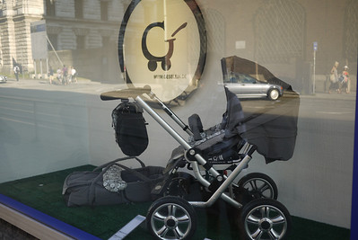 Looks like what a Porsche stroller would look like