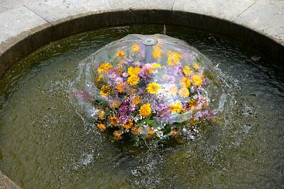 weird fountain