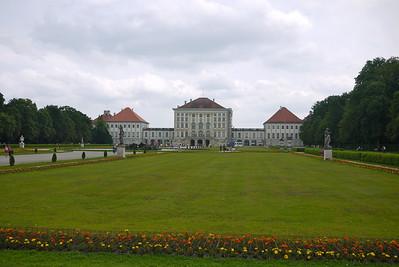 back of Nyphenburg Palace
