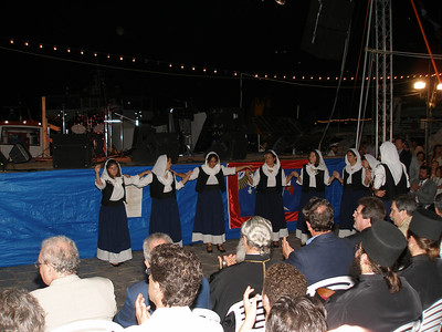 Young performers at Miaoulis Festival in Hydra.