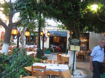 Taverna Akropol in the Plaka, Athens (3 Filomoussou Str.)
