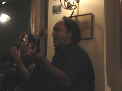 Musicians:  Pantelis Hatzikiriakos, bouzouki, and Dimitris Eseriadis, kithara (guitar).