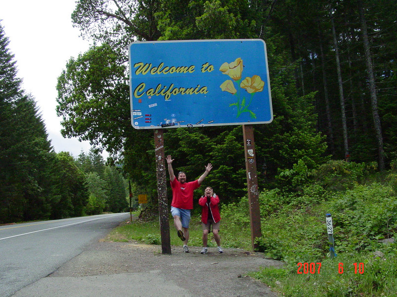 Our first visit to Norther California!!!  We made it!!!
