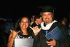 Grace graduation ceremony for her BA degree. We are both Roadrunner's forever.