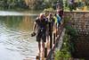 Crossing a dam