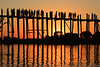 Sunset at U-Bein Bridge