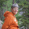 Joan at Lake Minniwanka