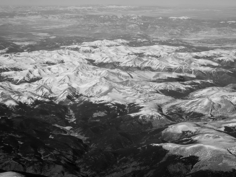 Going over the Rocky Mountains