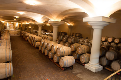 "The reserved wines are aged in the ""cave"" under the Villa, next to the reserved wine tasting room."