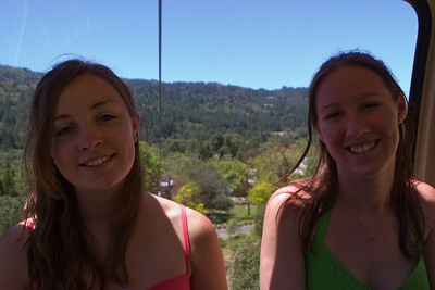 The tram provided interesting views of the Napa Valley.