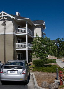 WorldMark Windsor, CA - our condo is the second floor on the corner.