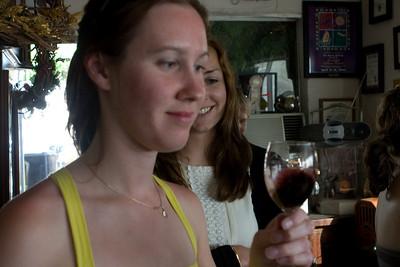 The Van Der Hayden wines were unique and interesting, especially the late harvest Cabernet Sauvignon.
