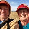 March 23, 2015 - (Nebraska Nature and Visitor Center [Entrance] / Alda, Hall County; Nebraska) -- David and MaryAnne Prairie Trail