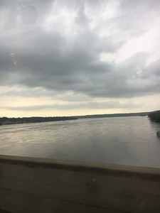 We crossed the Mississippi River