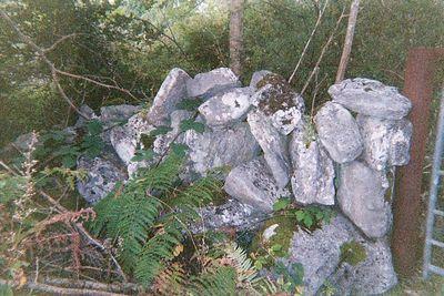 rock fence