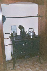 Nellie's new stove