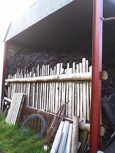pile of peat