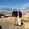 David & MaryAnne @ Zabriskie Point / Death Valley NP
