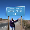 MaryAnne @ Father Crowley Vista Point in Death Valley NP