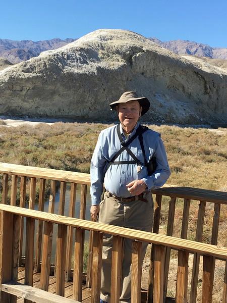 David @ Salt Creek Interpretive Trail in Death Valley NP