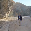 MaryAnne in Golden Canyon @ Death Valley NP