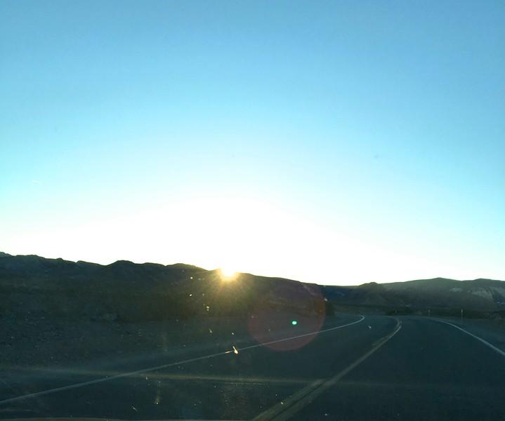 Sunrise near Zabriskie Point @ Death Valley NP