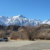 Mount Whitney from Eastern Sierra Interagency Visitor Center