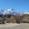 Mount Whitney from Eastern Sierra Interagency Visitor Center