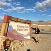 David @ Furnace Creek Visitor Center Signage
