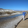 MaryAnne @ Salt Creek Interpretive Trail in Death Valley NP