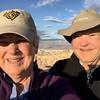 MaryAnne & David @ Zabriskie Point / Death Valley NP