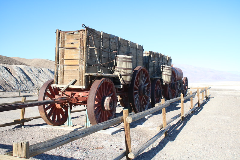 """20 Mule-Team Borax"" Wagons @ Death Valley NP"