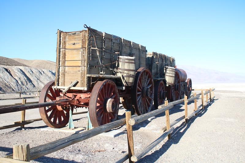 """20 Mule-Team Borax"" Wagons @ Death Valley NP"