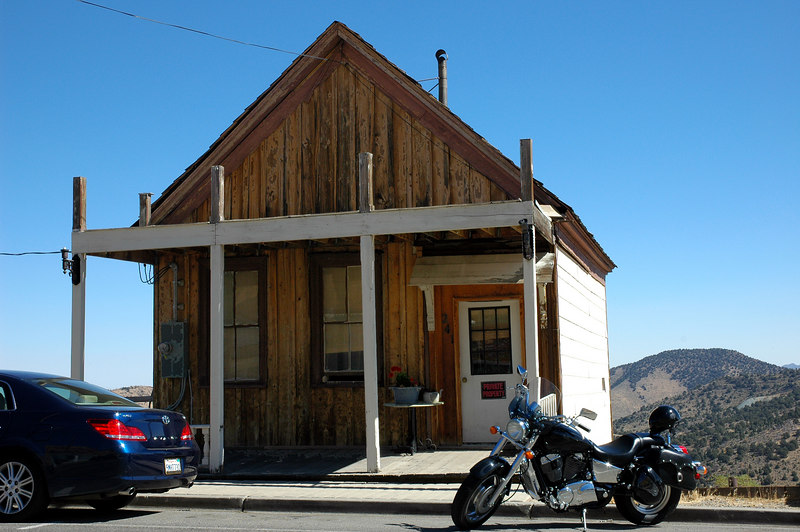One of the many old buildings in Virginia City.