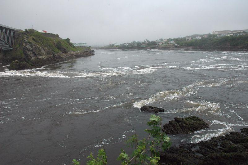 Saint Johns.  Reversing Falls.