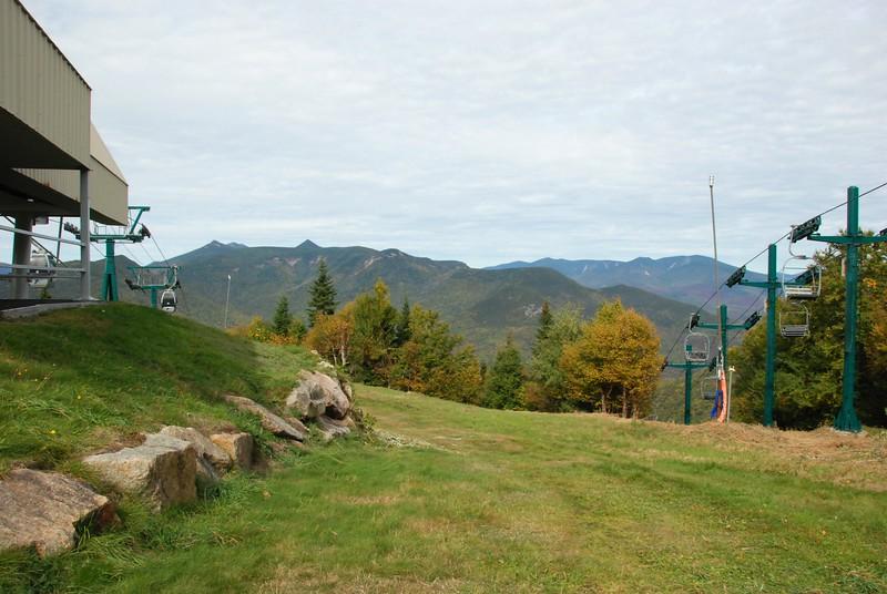 Ski lift on the right.
