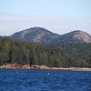 Some of the mountains in Acadia Park.