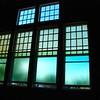 Second set of sea glass windows.