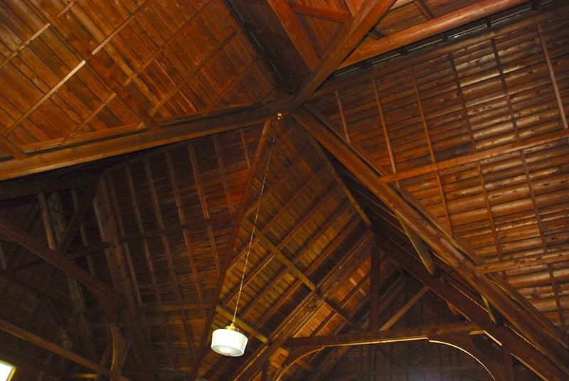 Ceiling detail.