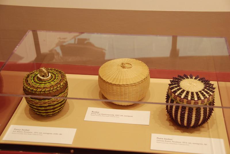 Beautiful basket weaving.