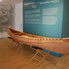 Abbe Museum, dedicated to telling the stories of the Native American population in the area. Here's a replicate of one of their canoes.