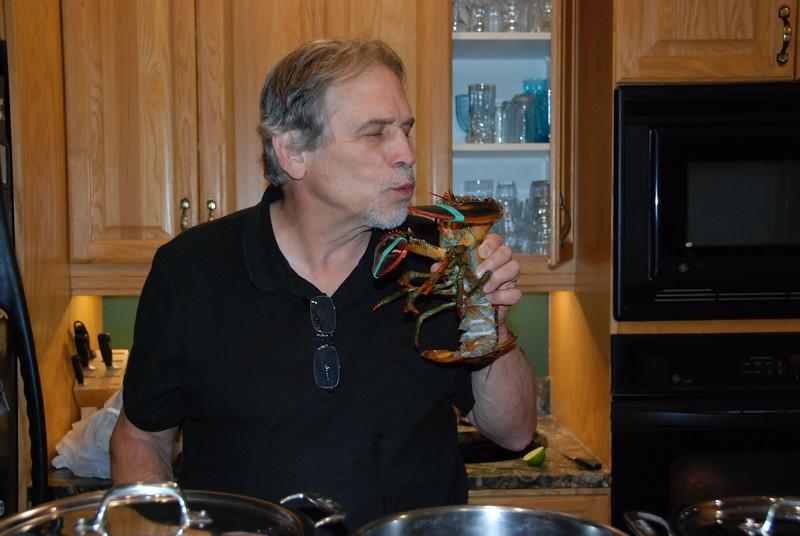 Goodbye, lobster!
