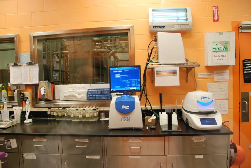 Testing lab.
