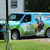 Tour of Ben & Jerry's factory. Here's their van.