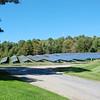 Solar power farm for the factory.
