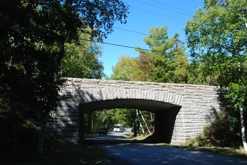 Back to Acadia Park: Stone bridge.