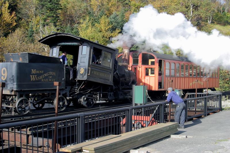 Cog Railway, Mt. Washington, N.H.